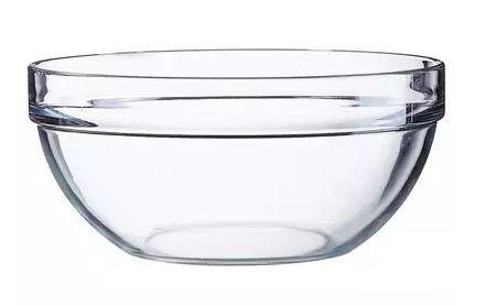 szklana salaterka